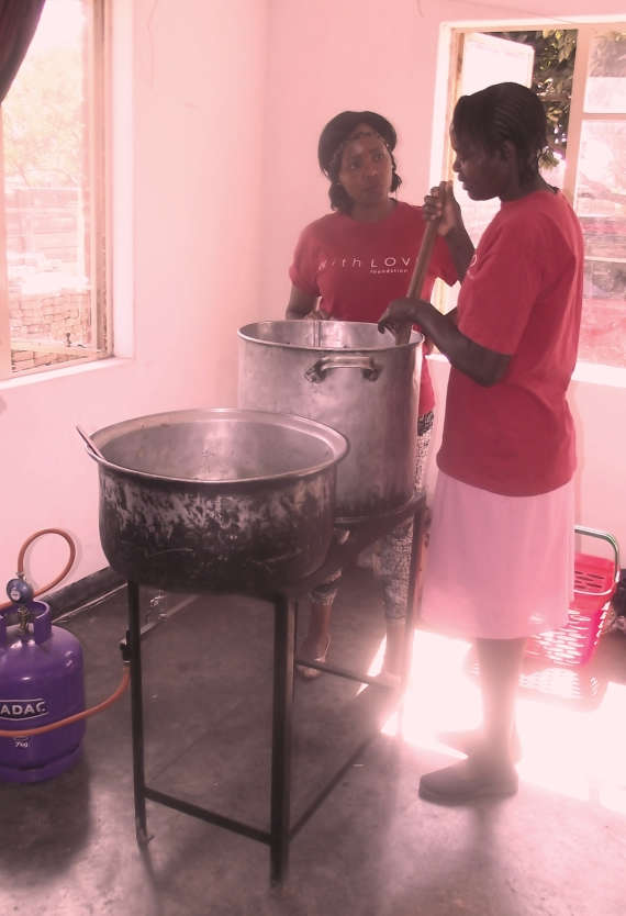 With Love Soup Kitchen Zimbabwe