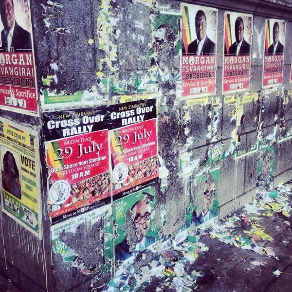 MT Posters stay up Ranga Mberi