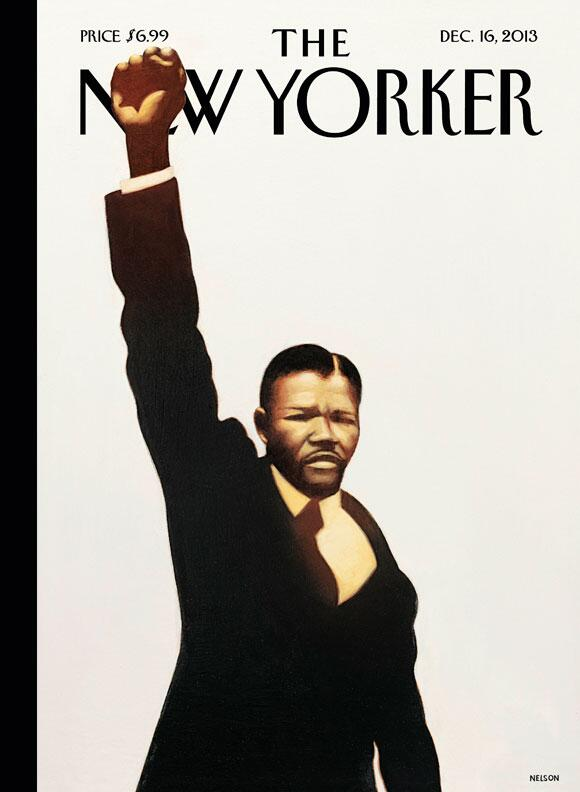 new yorker mandela cover
